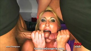 Nice fat ass on a slut doing a gangbang