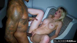 BLACKEDRAW Steamy Wife Picks Up BIG BLACK DICK And Can't Wait For More