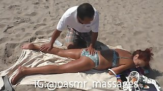 Mommy Russian Blubbery Body Beach Massage
