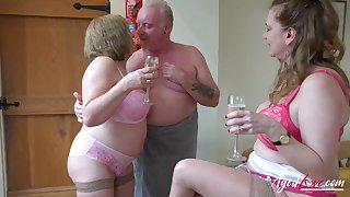 That old fuck got game and these ladies want his dick badly