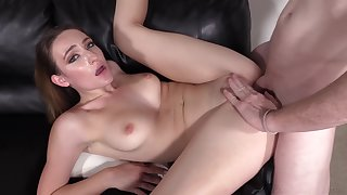Everly, 19 Years Old, Anal Casting And Pussy Creampie