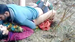 Mumbai Couple Sex In Park