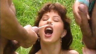 Sex Cumshot Facial Outdoor
