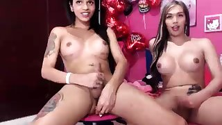 Gorgeous Transsexual Carla Novaes Masturbation