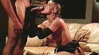 Vintage - Housewives watching a Guy Jerking his Cock